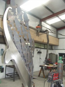 john-hogan-hand-forged-ironwork-georgian-art-nouveau-gates-blacksmith-mayo-ireland-salmon14