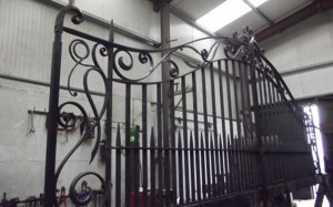 john-hogan-hand-forged-ironwork-georgian-art-nouveau-gates-blacksmith-mayo-ireland-workshop7